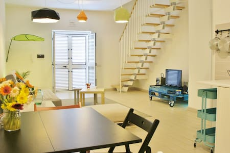 Studio-Apartment few steps from the beach (300mt) - Townhouse