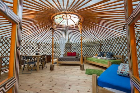 MONGOLIAN YURT at Terra Perma - Harrington - Yurt