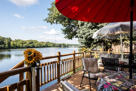 On the Mohawk River. Pet friendly. Close to shops. - Casa