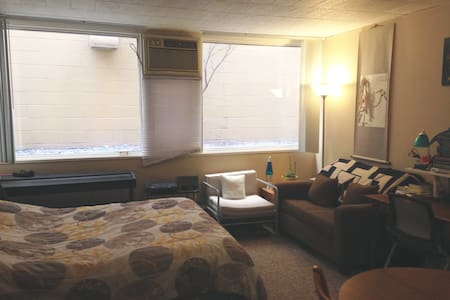 Convenient downtown studio - Ann Arbor - Appartamento