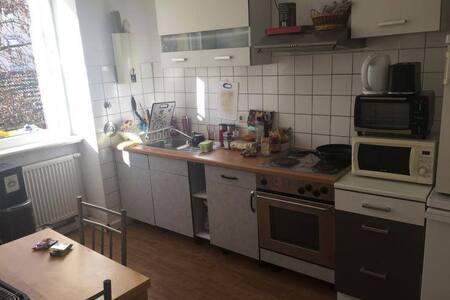 zentrale bescheidene große Wohnung in Pforzheim - Pforzheim - Appartement