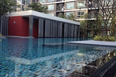 Comfortable Condo Near BTS Barering - Appartement