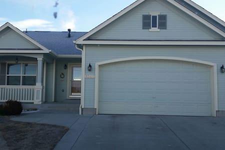 Beautiful home in eastern colorado - Colorado Springs - Maison