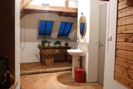 chambre dans  maison bourguignonne - Villars-et-Villenotte - Casa