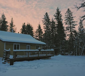 Little Retreat in the Forest - North of Gimli - Haus