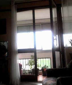 Chambre douillette et vue sur Rhône - Apartment