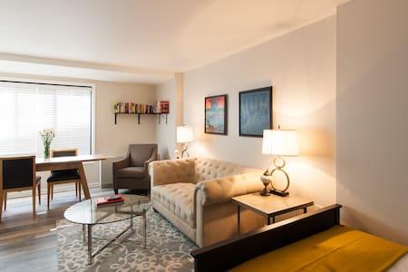 Cozy, Elegant Studio in Downtown DC - Washington - Apartment