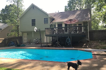 Cartersville home - Cartersville - Rumah