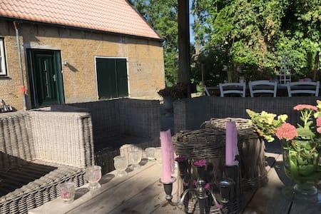 Geweldig verbouwde woonboerderij! - Huis