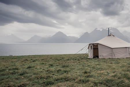Siløya basecamp - nordlys og havfiske