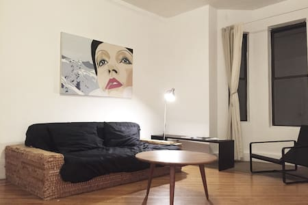 Sunny two bedroom apt in brownstone