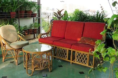 Independent  terrace garden Studio(Kitchen, Bath) - Apartment
