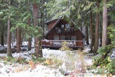 27GS, Cabin at Glacier, with Wooded View - Maple Falls
