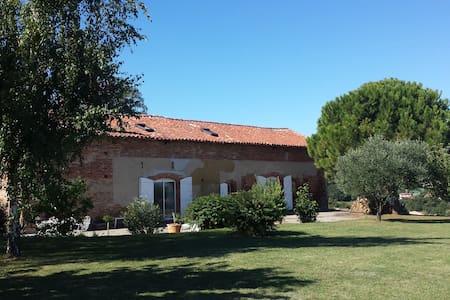 Belle chambre proche de Toulouse - Rumah