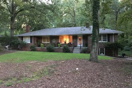 Charming Brick Home in the Saluda River Woods - West Columbia