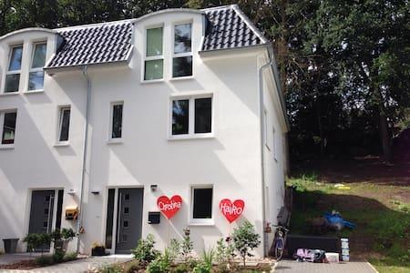 modernes Doppelhaus in Heimfeld - Haus