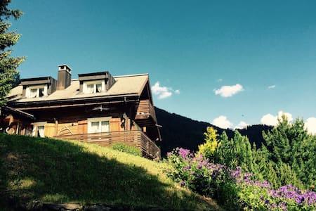 Chalet mit Traumsicht in die Berge - House