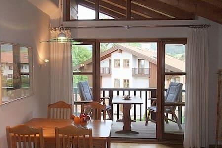 Ferienwohnung Ruhpolding am Kurhaus mit Komfort - Appartement