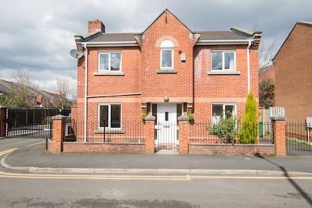 3BedsDetached House Near CityCentr - Manchester - Casa