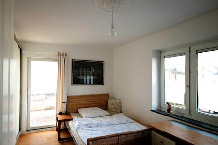 Zimmer 2 in  gemütlichem, kleinen Reihenhaus - Krefeld - Rumah