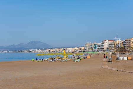 New On The Beach Sea View Apartment - Rethymno - Apartment