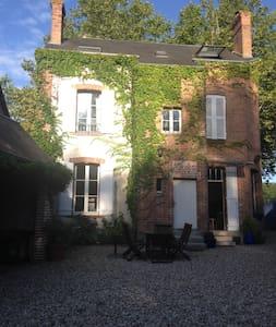 Chambre chez l'habitant en Sologne (pour 2 perso.) - Dům