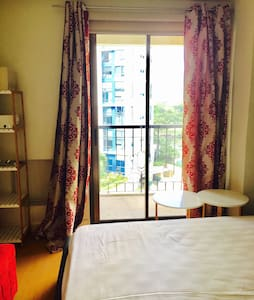 Cozy best location 1 br unit in BGC - Taguig city  - Apartamento