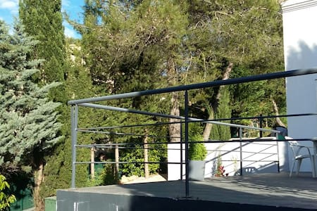 APPT 3/4 pers clim terrasse calme - Grabels