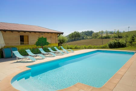 Eat Pray Love in Oltrepò (Suite Peonia) - Bed & Breakfast