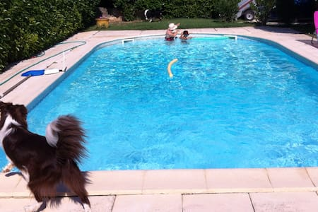 Villa vacance avec piscine près du Pont du Gard - Remoulins