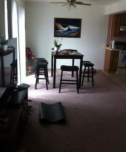 Phd student renting one of the two bedrooms - 아파트