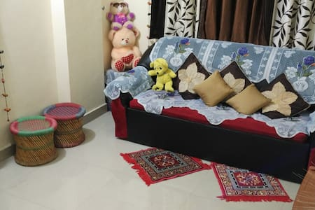 a beautiful room with handmade creative deco - Navi Mumbai