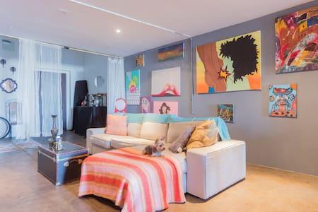 Private Room in Large Artist Loft DTLA - Los Angeles - Appartamento