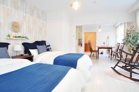 Antique style near Dotonbori -WiFi- - Appartement