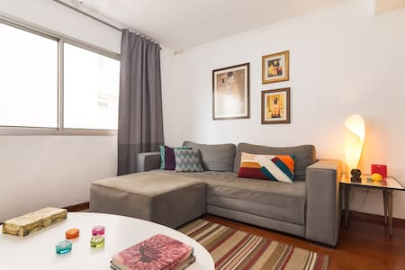 Double bedroom in Pinheiros near the subway - Són Paulo - Pis