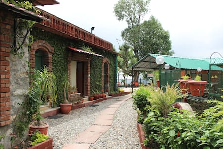 Luxury Homestay Jharipani Castle(3 seperate rooms) - Casa