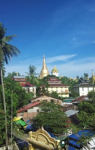 Furnished flat close (200m) to Shwe Dagon Pagoda. - Daire