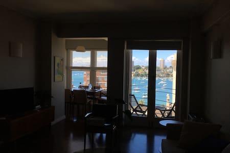 Grand Deco Apartment, ideal location, harbour view - Elizabeth Bay - Apartment