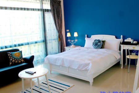 醜小鴨的家之海洋雙人套房(陽台及浴缸) - Luodong Township - Bed & Breakfast