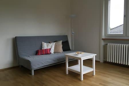 Ruhiges, helles Zimmer mit guter Anbindung zu ÖV - Zürich - Appartement