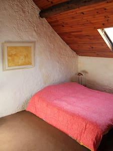 Chambre 2 (Ferme ancienne du Vexin français) - Apartemen