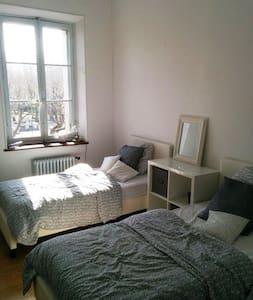 Chambre privée 2 personnes - Lägenhet