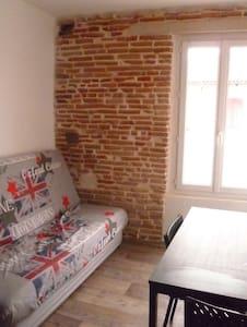 Studio 5 Mn Montauban Nord Centre Village ALBIAS - Montauban - Wohnung