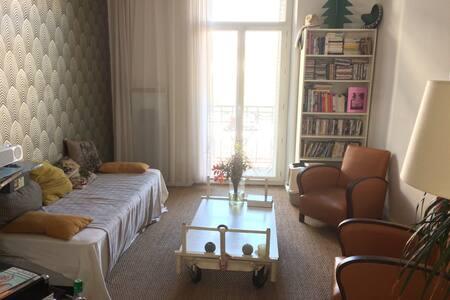Chambre avec balcon chez l'habitant - Marseille - Apartment