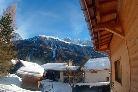 New flat in Les Praz with amazing view to MB - Apartment