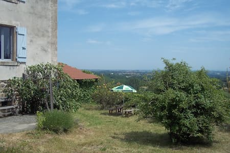 Maison spacieuse en Ardèche, vue magnifique - Dom
