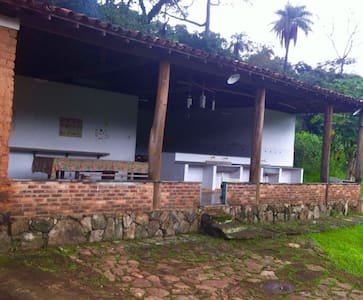 Casa centenária - Espaço Gourmet - Brumadinho - Casa de campo