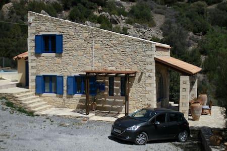 Quiet away from it all villa & pool - kastri. ano viannos - Villa