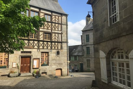 Comfortable 2 bed house in charming French village - Moncontour