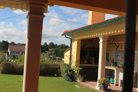 Individual house for 6 persons near Leiria/Fatima - Leiria - House